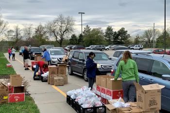Food Bank for the Heartland's Mobile BackPack Program